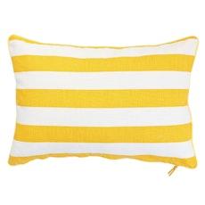 Ikat Rectangle Cushion - Yellow