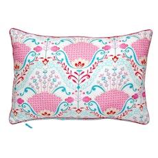 Hyacinth Rectangle Cushion - Pink
