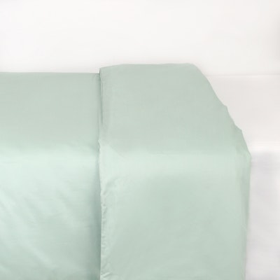 (King) LUXE Duvet Cover - Aqua Smoke - Image 1