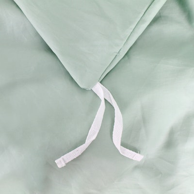 (King) LUXE Duvet Cover - Aqua Smoke - Image 2