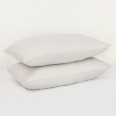 LUXE Pillow Case (Set of 2) - Glacier Grey