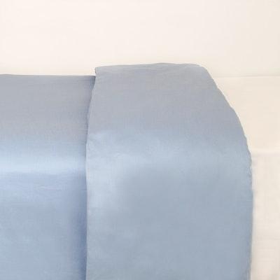 LUXE Duvet Cover - Dusty Blue (Queen)