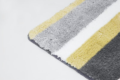Modernity Striped Mat - Yellow - Image 2