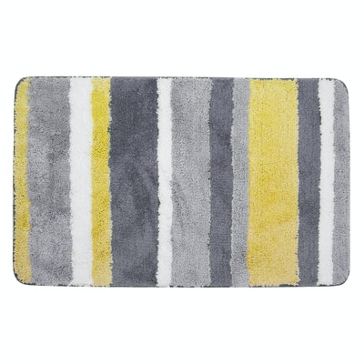 Modernity Striped Mat - Yellow - Image 1