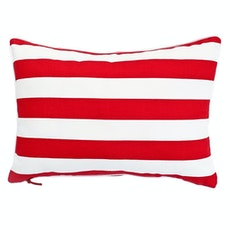 Rally Rectangle Cushion - Red