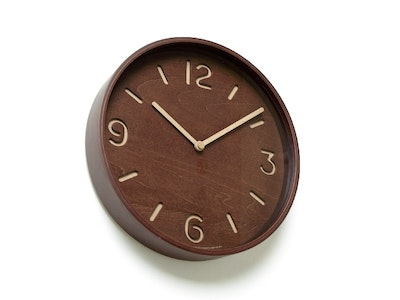 Thomson Wall Clock - Brown