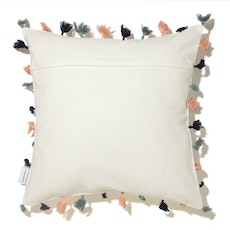 A New Beginning Cushion Cover - Silver Wording