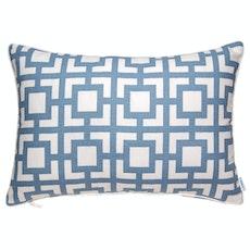 Gigi Rectangle Cushion - Blue
