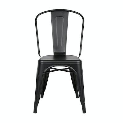 Tolix Chair - Matte Black