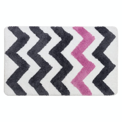 City Chevron Mat - Pink
