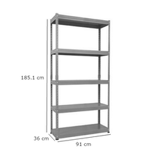 Kelsey Display Rack - White