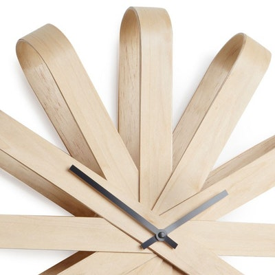 Ribbonwood Wall Clock - Natural - Image 2