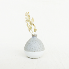 Mini Vase - Pastel Grey