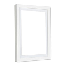 A1 Size Wooden Frame - White