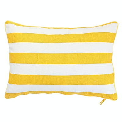 Rally Rectangle Cushion - Yellow - Image 2