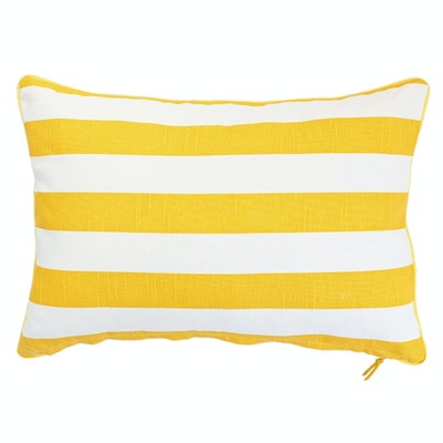 Rally Rectangle Cushion - Yellow