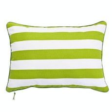 Rally Rectangle Cushion - Apple Green