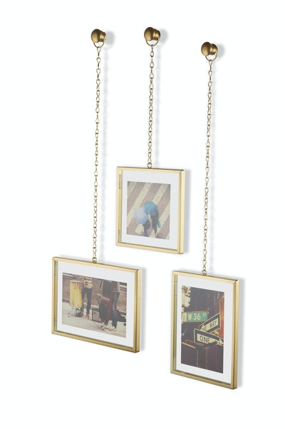 Fotochain Photo Display - Matte Brass