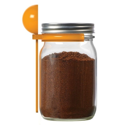 Jarware Wide Mouth Mason Jar Coffee Spoon Clip