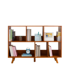Retro Square Book Cabinet