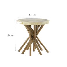 Liberte Round Side Table