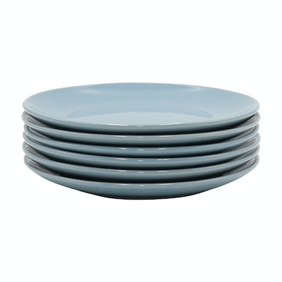 EVERYDAY 6-Pc Side Plate Set - Blue - Image 1