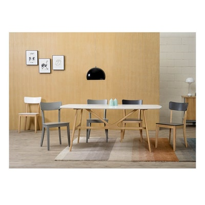 Darcy Dining Chair - Natural, White - Image 2