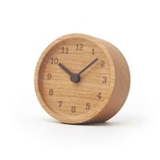 MUKU Desk Clock - Alder