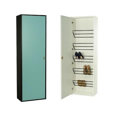 Taber Shoe Cabinet - Light Green