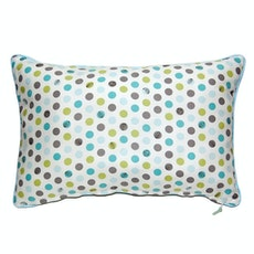 Woodpeckers Rectangle Cushion - Blue