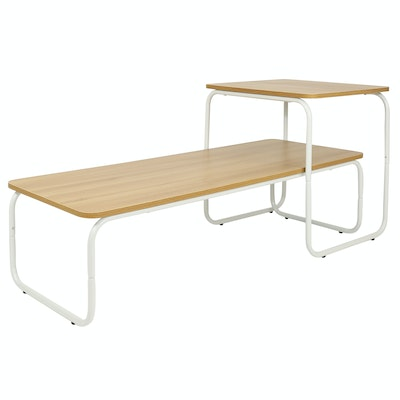 (As-Is) Withus Coffee Table Duo - White - 1