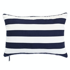 Rally Rectangle Cushion - Navy
