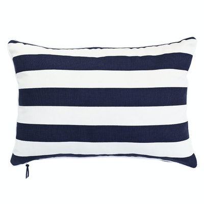 Rally Rectangle Cushion - Navy - Image 1