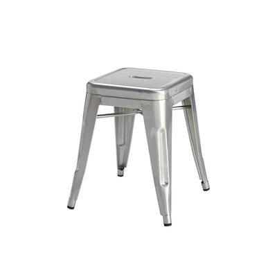 Tolix Stool - Industrial Silver - Image 1
