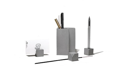 Concrete Stationery Set