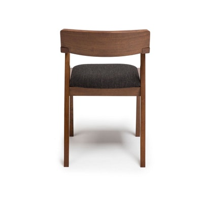 Imogen Dining Chair - Cocoa, Pebble - Image 2