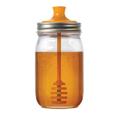 Jarware Regular Mouth Mason Jar Honey Dipper - Image 1