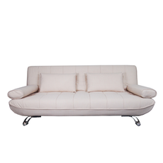 Clifford 3 Seater Sofa Bed - Beige