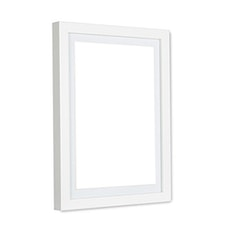 A2 Size Wooden Frame - White