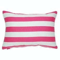 Rally Rectangle Cushion - Fuchsia