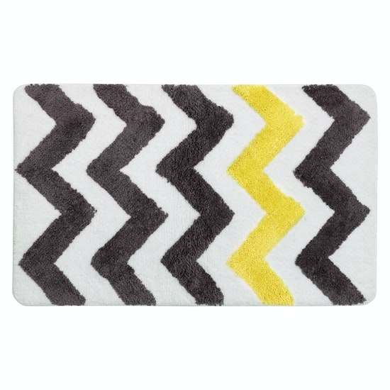 1688 - City Chevron Mat 45 x 65 cm - Yellow