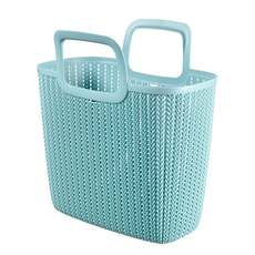 Knit Garden Basket - Foggy Grey