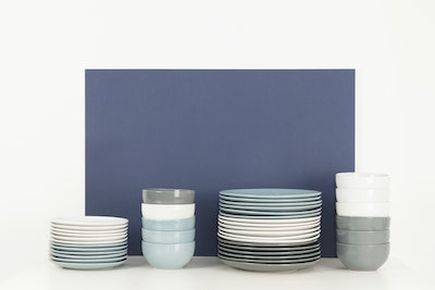 EVERYDAY 6-Pc Dinner Plate Set - Blue - Image 2
