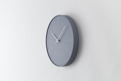 Dandelion Wall Clock - Grey