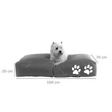 Dog Beanie - Grey