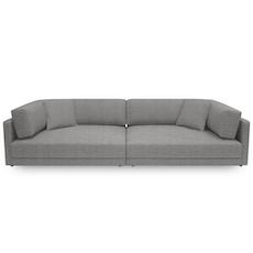 Dennis 4 Seater Sofa - Light Grey