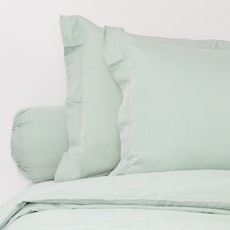 LUXE Duvet Cover Set - Aqua Smoke