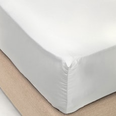 LUXE Fitted Bed Sheet - Glacier Grey