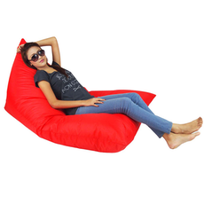Snuggle XL Bean Bag - Red