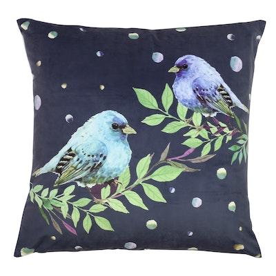 Blue Chirps Cushion - Image 1